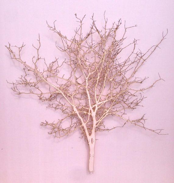 Sherbet Tree II paper silk pins 58x58cm Gall P £1800