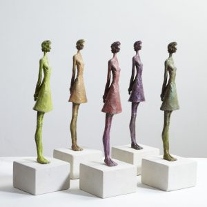 Puddings 30x7.5x7.5cm bronze on portland stone ed 10 £650 each