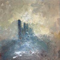 Castle in the Mists; Corfe Dorset