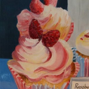 Raspberry Rumble 15 x15 cm