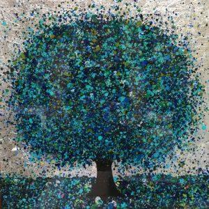 Sparkling Blue 30x30cm