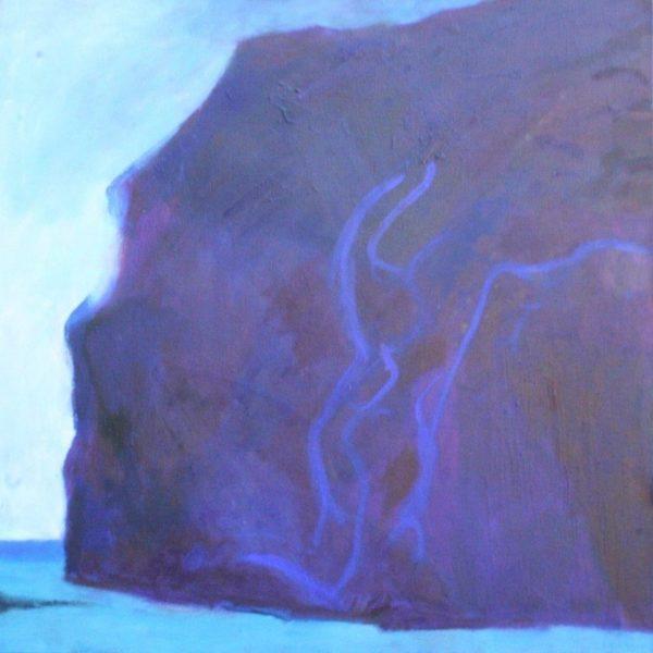 Imagine the Birds 65x65cm oil on canvas Gall P £1,550