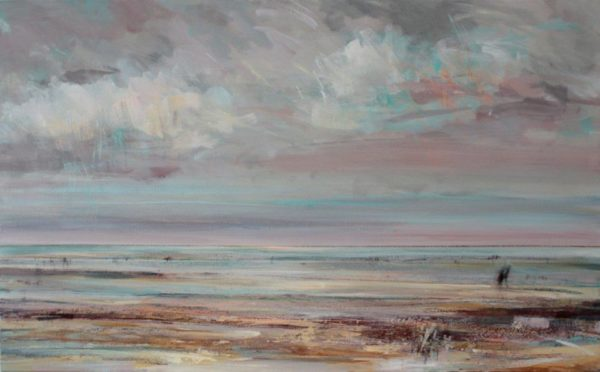 Before The Tide 60x97cm mixed media on canvas framed Gall P £1,995