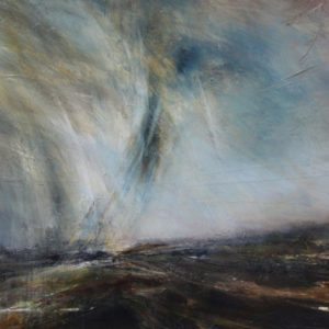 Wild and Gentle 70x100cm mixed media on panel Gall P £1,950