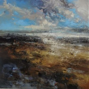 Winter twilight 1V 80x80cm
