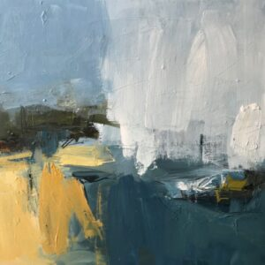 Late summer light II, 41cm x 41cm, mixed media on canvas £675