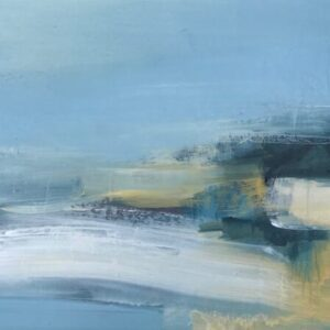 Bright Beginnings, 39cm x 80cm, acrylic on board, £795