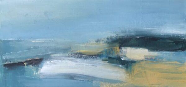 Bright Beginnings, 39cm x 80cm, acrylic on board, £795