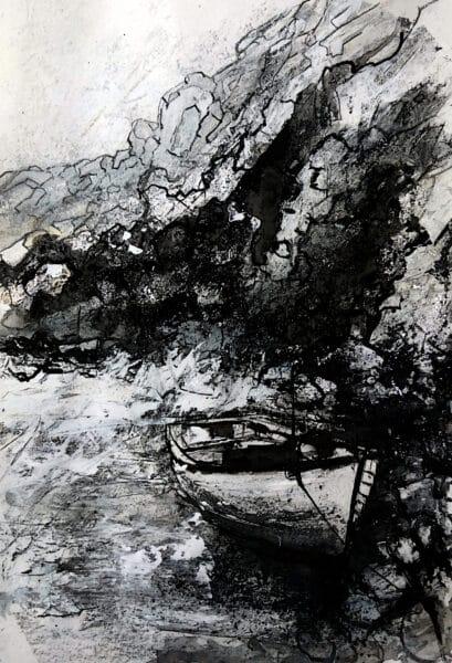 13 rough seas
