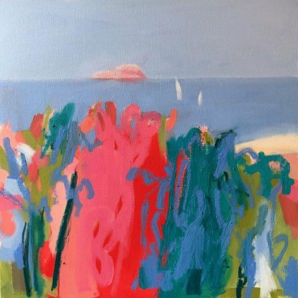Amelia McComb Island. 50 x 50cm