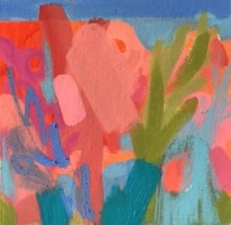 Amelia McComb Towards the beach. 20 x 20 cm