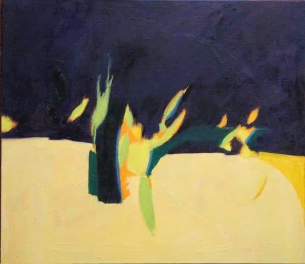 Grove 70x80cm oil on canvas Gall P £1,850
