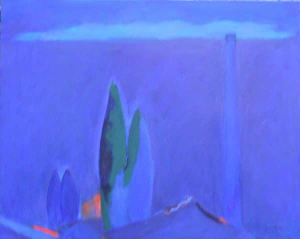 Wine Dark Sea 60x80cm oil on canvas Gall P £1,800