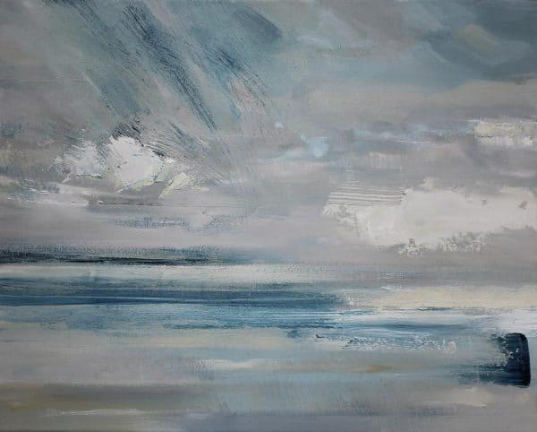 Little Cloud 41x51cm oil on canvas Gall P £895